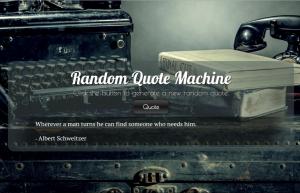 Random-Quote-Generator